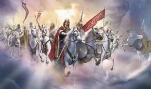 Jesus Returns_Army_White Horse